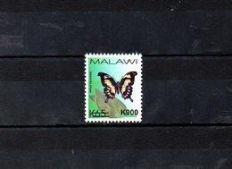 "MALAWI, 2018, BUTTERFLY, O/P, NEW VALUE, ""k900"" 1v. MNH** NEW! - Butterflies"