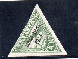 LETTONIE 1933 * - Latvia