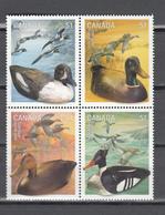 Canada 2006,4V In 4block,birds,vogels,vögel,oiseaux,pajaros,uccelli,aves,MNH/Postfris(L3393) - Oiseaux
