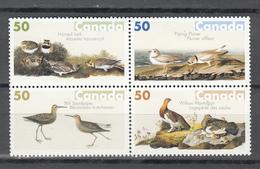 Canada 2005,4V In 4block,birds,vogels,vögel,oiseaux,pajaros,uccelli,aves,MNH/Postfris(L3394) - Vogels