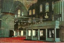 Istanbul (Turchia) Interior Of The Blue Mosque, Interieur De La Mosquée Bleu - Turchia
