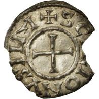 Monnaie, France, Charles Le Chauve, Denier, 864-875, Saint-Denis, TTB, Argent - 751-987 Monnaies Carolingiennes