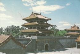 "Shen Yang (Cina) The North Tombs, Cartolina Postale ""Par Avion"" - Cina"