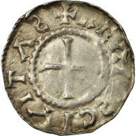 Monnaie, France, Charles Le Chauve, Denier, 864-875, Reims, TB+, Argent - 751-987 Monnaies Carolingiennes
