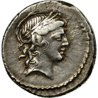 Monnaie, Marcia, Denier, 82 BC, Rome, SUP, Argent, Crawford:363/1d - Romaines