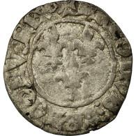 Monnaie, France, Charles VI, Double Tournois, TB, Billon, Duplessy:393C - 1380-1422 Charles VI Le Fol