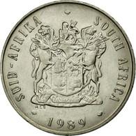 Monnaie, Afrique Du Sud, 20 Cents, 1989, TTB, Nickel, KM:86 - Afrique Du Sud