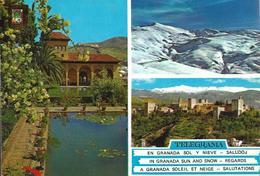 Granada - Jardines Del Partal - Sierra Nevada - Alhambra - Granada