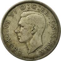 Monnaie, Grande-Bretagne, George VI, 1/2 Crown, 1939, TB, Argent, KM:856 - 1902-1971 : Monnaies Post-Victoriennes