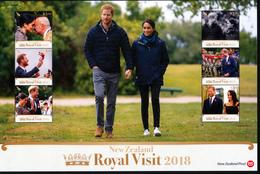 NEW ZEALAND 2018 ROYAL VISIT, Sheetlet** - Blocks & Sheetlets
