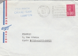 LSC 1977 - Cachet Dateur Inversé - Variedades Y Curiosidades