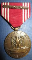 """Good Conduct Medal"" US WW2 Attribuée Avec Agraffe - Etats-Unis"