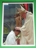 PAPA FRANCESCO - Jorge Mario Bergoglio - Santino Preghiera Per Il Seminario 2013 (di Paolo VI° Anno 1964) - Santini