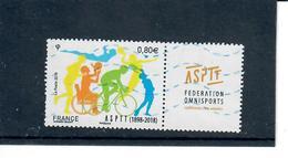 Yt 5208 Asptt Federation Omnisport - France
