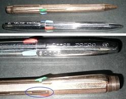 Rare Lot De 2 Anciens Stylos 4 Couleurs Dont 1 Color Matic SOCOR, CM ColorMatic - Stylos