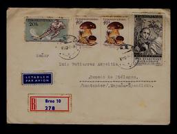BASNIKA A MUSA Max Svabinsky, Malira A Grafik Narozen 1873 Mushrooms Champignons Ice-hoquei Sports CESKOSLOVENSKO Sp5633 - Tchécoslovaquie