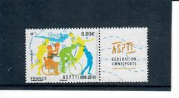 Yt 5208 Asptt Federation Omnisport - Cachet Neopost Code Roc 19460A - France