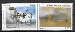 France 2010 N° 4438 - 4492  Neufs Série Artistique à La Faciale - France