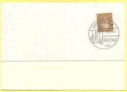 Deutsches Reich - 1932 - 3 + Special Cancel Dresden Kinderstadt Im Zoo - Fragment Over Paper - Deutschland