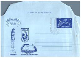 (CH 2) Vanuatu Island  - STAMPEX 86 - Aerogramme - Tokelau