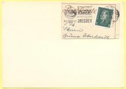 Deutsches Reich - 1929 - 8 + Special Cancel Dresden Internationale Hygiene Ausstellung 1930 - Fragment On Paper - Deutschland