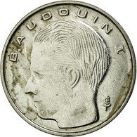 Monnaie, Belgique, Franc, 1991, TB+, Nickel Plated Iron, KM:170 - 1951-1993: Baudouin I