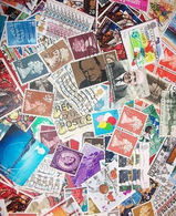 Great Britain LazyBag 2.5 KG (5LB-8oz) OFF PAPER MissionBag Quality (circa 25.000 Stamps) KILOWARE GB - Stamps