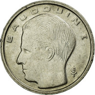Monnaie, Belgique, Franc, 1989, TB+, Nickel Plated Iron, KM:170 - 1951-1993: Baudouin I