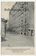 75 - PARIS 18 - 1 Bis, Passage Duhesme - Internat De L'École Pratique D''Électricité - Façade Prise De La Cour ++++ RARE - Distretto: 18