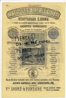 Année 1866 Maison LE PERDRIEL Médicament / Pharmacie Fondée En 1823 à PARIS Et BRUXELLES Machine à Coudre E. HOWE - Publicités