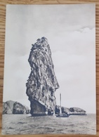 "Stick Rock-islet - Rocher-ilot De La Baguette - Penonislote ""Varilla"" - Boat HALONG VIETNAM  Nv - Vietnam"