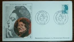 FDC France 1982 - Type Liberté De Gandon  - Yt  2190 - Paris 4/04/1982 (réf 18-157) - FDC