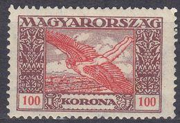 UNGHERIA - 1924 - Posta Aerea Yvert 6 Nuovo MH. - Posta Aerea