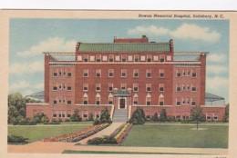 North Carolina Salisbury Rowan Memorial Hospital Curteich
