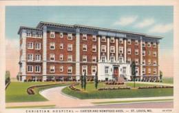 Missouri St Louis Christian Hospital Carter and Newstead Avenues