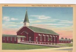 Ohio Cambridge View Of Chapel Fletcher General Hospital Curteich