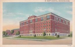Minnesota Rochester St Mary's Hospital 1943 Curteich