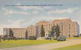 Michigan Battle Creek Leila Y Post Montgomery Hospital From Main
