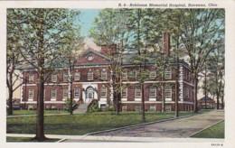 Ohio Ravenna Robinson Memorial Hospital Curteich