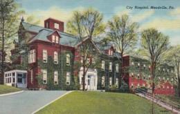 Pennsylvania Meadville City Hospital Curteich