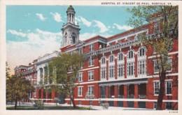 Virginia Norfolk Hospital St Vincent De Paul Curteich