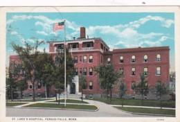 Minnesota Fergus Falls St Luke's Hospital 1931 Curteich