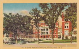 Maine Lewiston Central Maine General Hospital Dexter Press