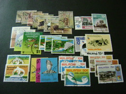 Malaysia 1979-1982 Complete Stamp Issues (SG 190-245, 247-252) 2 Images - Used - Malaysia (1964-...)