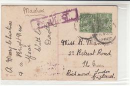 India / Madras Paquebot Mail - Ohne Zuordnung