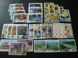 Malaysia 1994-1995 Stamp Issues (SG 520-576, 579-594) 3 Images - Used - Malaysia (1964-...)