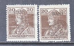 Hungary  KOLOZSVAR    5 N 20 X 2    *   OVPT.  SHIFT - Debreczen