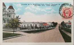 O) 1917-CIRCA-CUBA-CARIBBEAN-SPANISH ANTILLES, MAXIMO GOMEZ 2c, VISTA ALEGRE-ARCHITECTURE - POSTAL CARD XF - Postcards