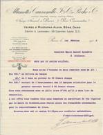 """FRANCE - En-tête De Lettre """"Allumettes Caussemille Et Roche Cie"""" Paris 7 Rue Caumartin - 1902 - 1900 – 1949"""