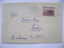 Cover Olomouc 1952 -  Day Of Miners 1952, Automatic Coaling Crane Mi 760 - Tchécoslovaquie